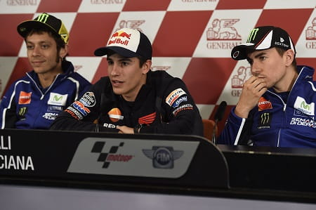 Rossi, Marquez & Lorenzo share thoughts on team orders