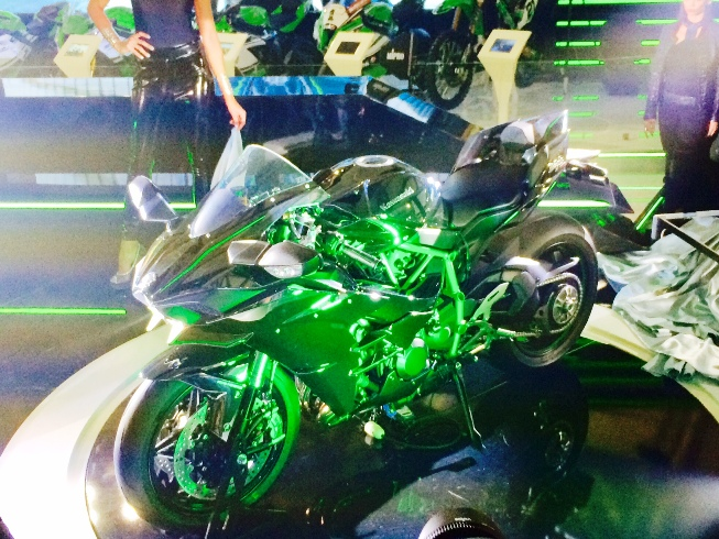 The moment the Ninja H2 was revealed