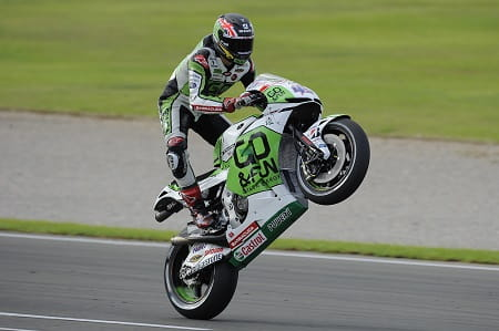 Redding can't wait to get on his factory bike