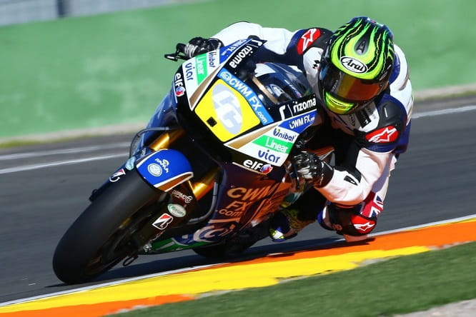 Crutchlow took his first spin on the LCR Honda this afternoon