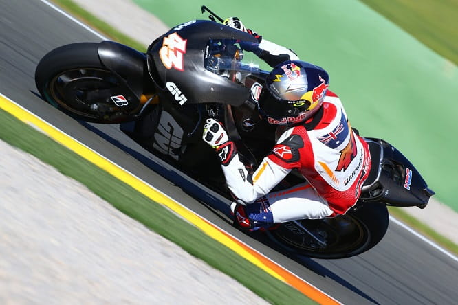 Miller on the RCV1000R in Valencia