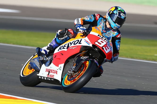 Marquez Jnr said he enjoyed his debut