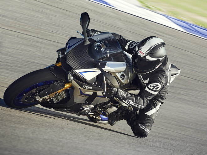 On track for professional riders; the R1M
