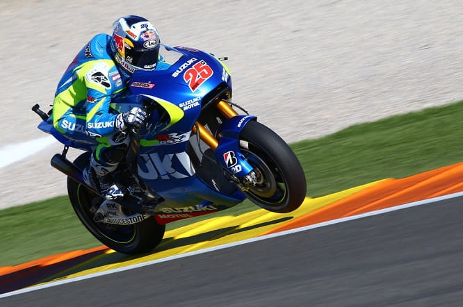 Both Vinales and Espargaro say the Suzuki has a good chassis