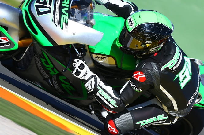 Laverty wants more power control coming out of corners