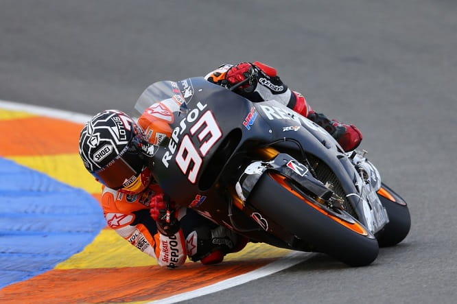 Marquez topped the final standings