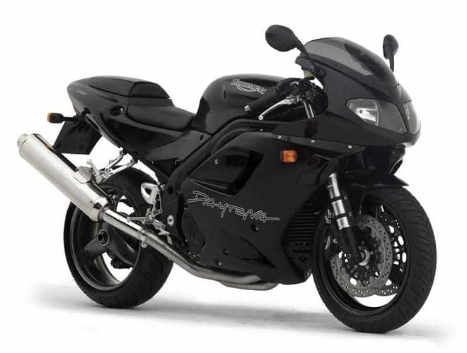 The Triumph Daytona 955i which was last made in 2006.