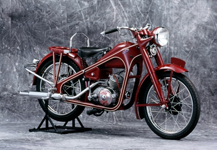 The first of 300 million bikes produced by Honda so far