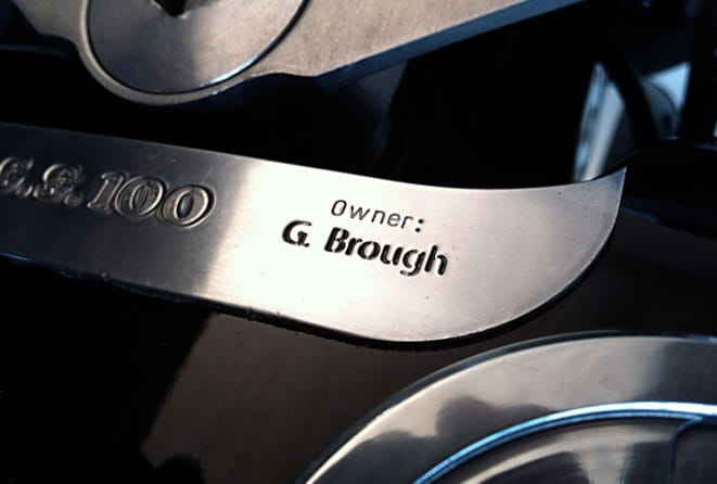 Personalised engraving