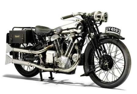 This Brough Superior sold for more than £315,000