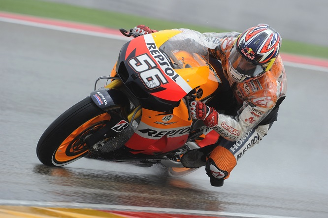 Rea spent 2 rounds on the Repsol Honda in 2008