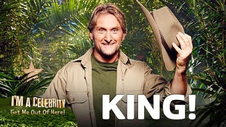 Carl Fogarty won this year's 'I'm a celebrity'