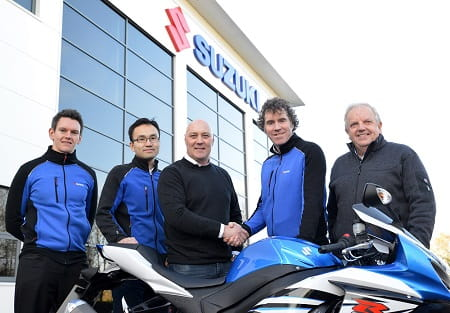 The Halsall team will take over Suzuki's official effort
