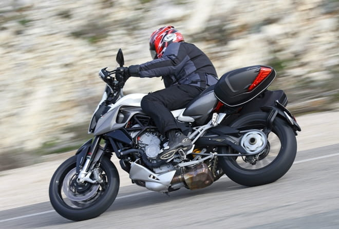 ABS, traction control and anti-stoppie!