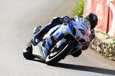 Martin finished third in this year's Senior TT