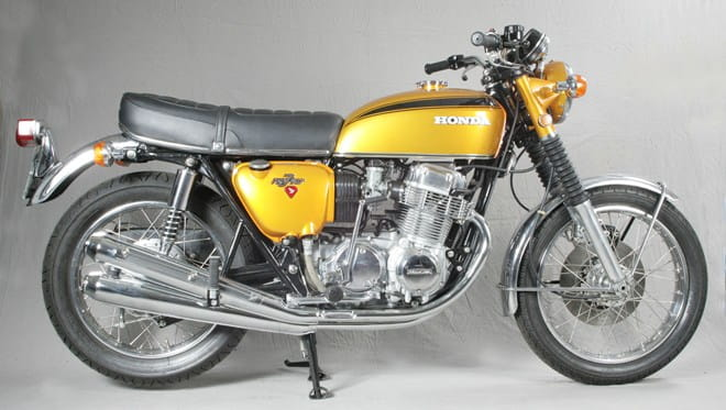 The original 'Superbike' - Honda's CB750