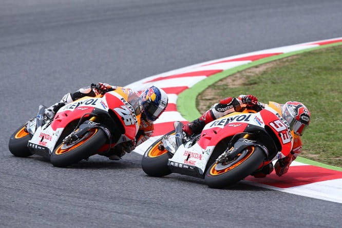 Pedrosa lost out after making a mistake in Catalunya