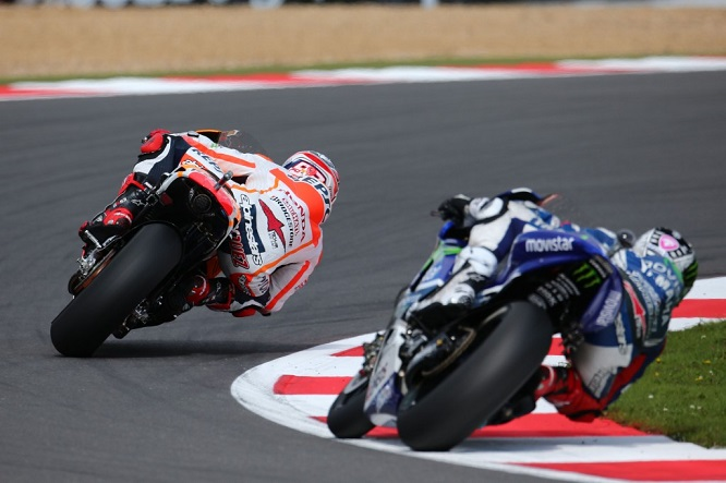 Marquez had a score to settle at Silverstone