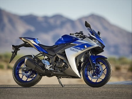 Yamaha's R3 is likely to be a leading contender