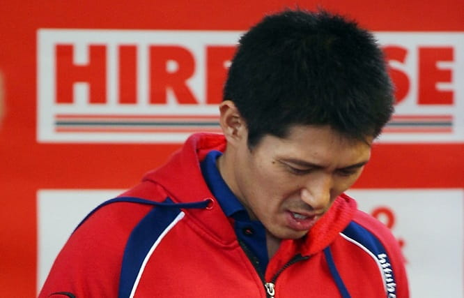 Kiyonari was ruled out of the title fight after breaking his collarbone