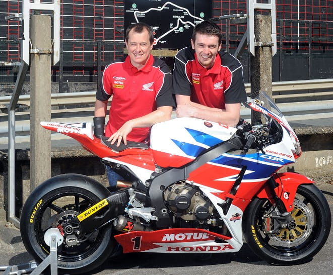 McGuinness and Cummins once again form Honda's Road Racing line up