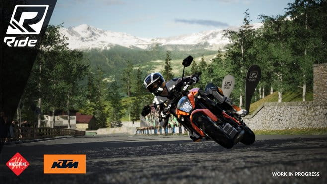 KTM 1290 SuperDuke R - not listed as an official bike available in the game...yet