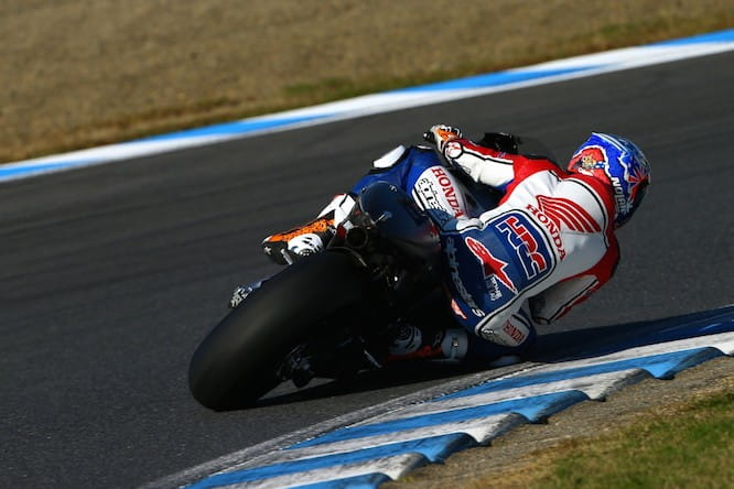 Stoner will continue testing the 2015 Honda