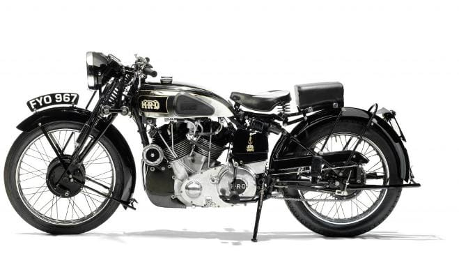 The penultimate bike out of the factory before WWII