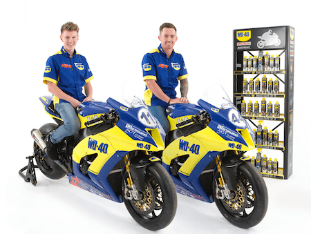 Mackenzie joins WD40 for 2015