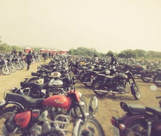 5,000 Royal Enfield enthusiasts attended