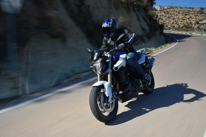 Revamped for 2015; BMW F800R