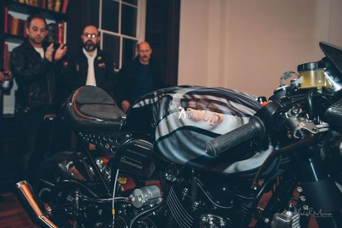 The Dominator was unveiled at Donington Hall