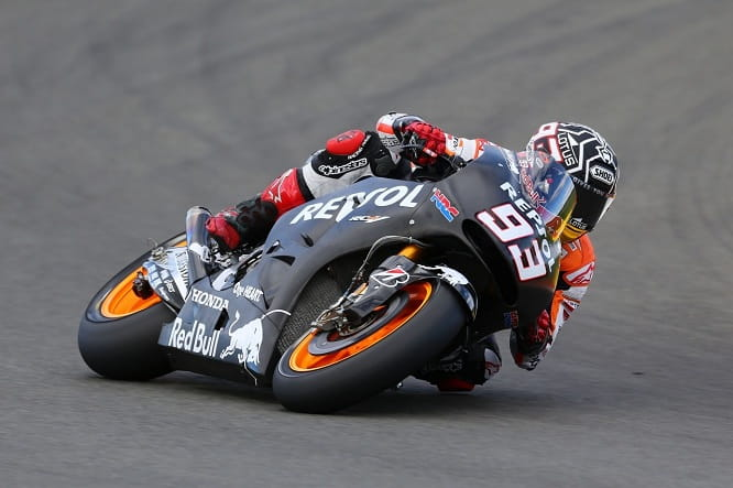 Marquez was fastest on Day 1