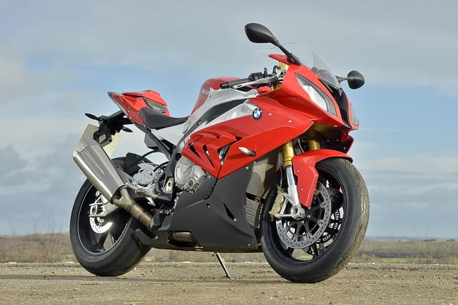 Not a bad looking bike. BMW's S1000RR ain't prettier than the old one, but who cares when it rides this good?