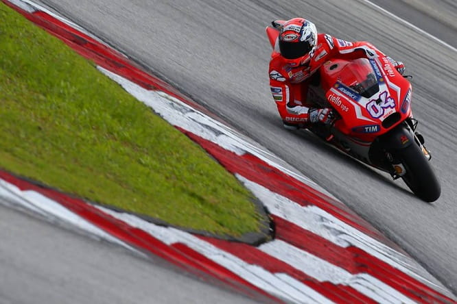 Dovizioso has been fast in Sepang