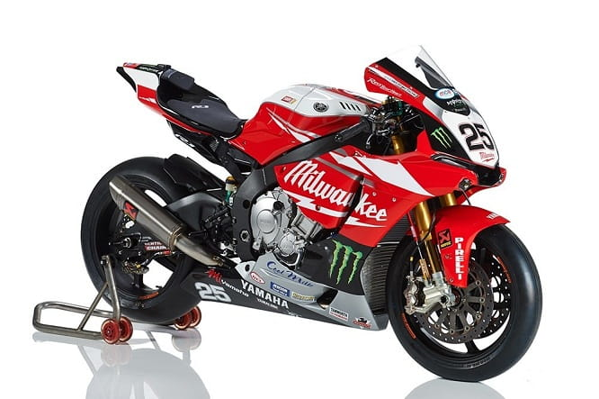 Josh Brookes' Milwaukee Yamaha
