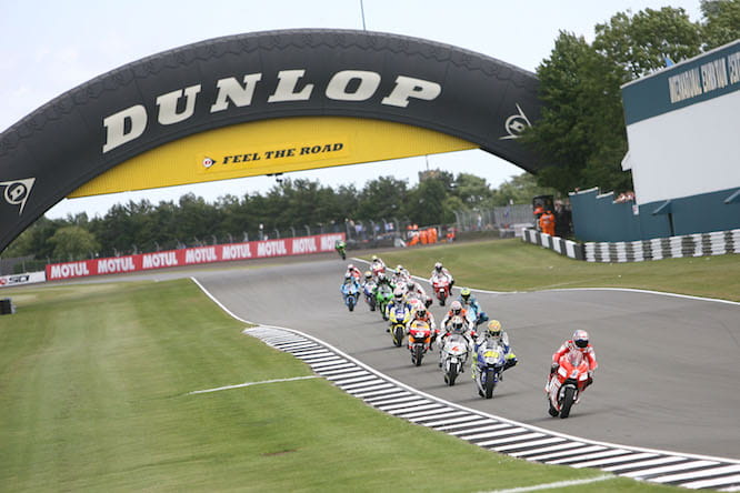Did you book tickets for Donington Park?
