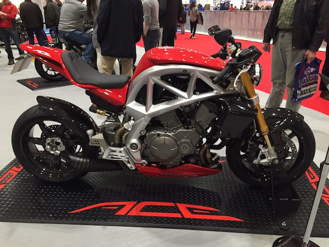 New seat unit for sportier version of Ariel Ace