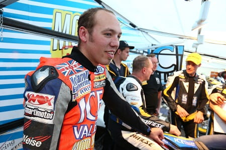 Fastest ever TT newcomer Peter Hickman