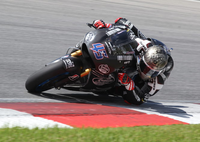 Redding was 17th fastest in Sepang
