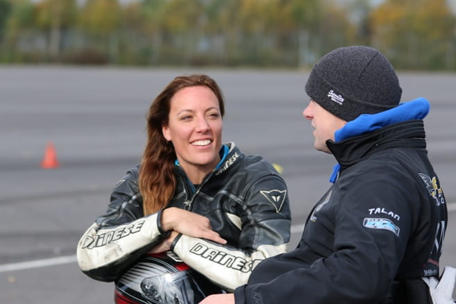 Jane and Talan, Paralympians and motorcyclists