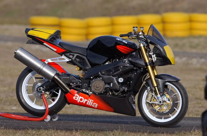 The limited edition Aprilia was launched in 2003