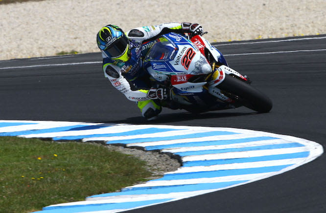 Lowes topped the timesheet ahead of the first race of the season