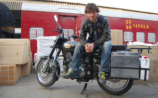 Guy Martin went to India for a documentary about the Royal Enfield