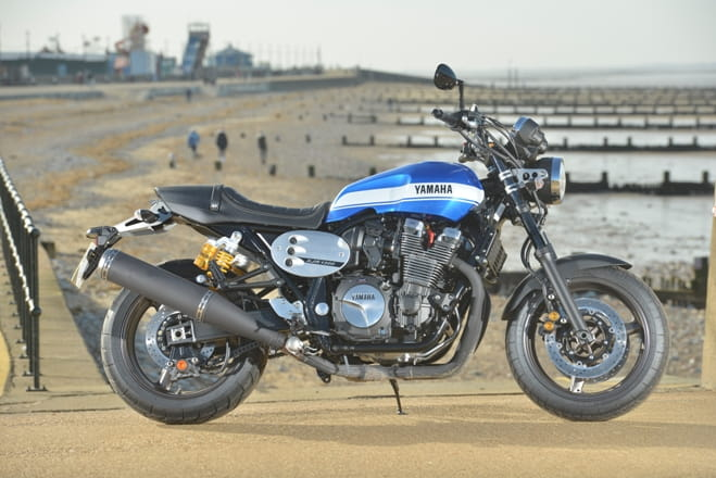 Yamaha flexes its muscles at Hunstanton beach