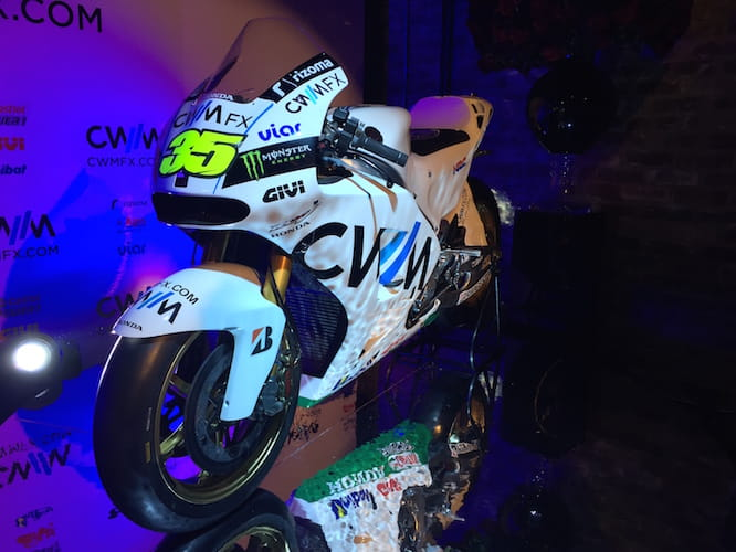 Crutchlow's new steed