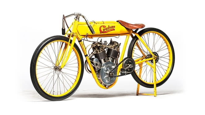 Ex-Steve McQueen Cyclone set for big auction price