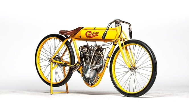 Cyclone was bought at the Steve McQueen Estate Auction in 1984
