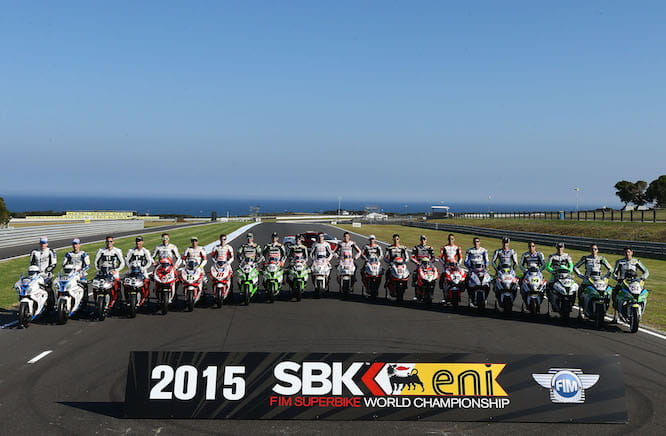 The 2015 World Superbike Championship is go!