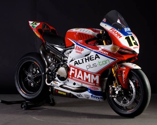 The Althea Ducati